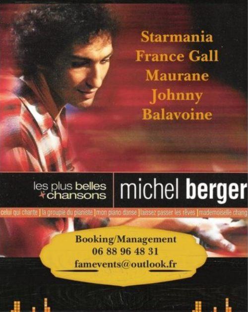 Affiche Tribute Michel Berger Story
