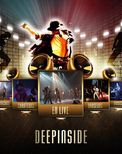 affiche tribute MJ