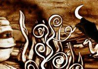 dessin sur sable